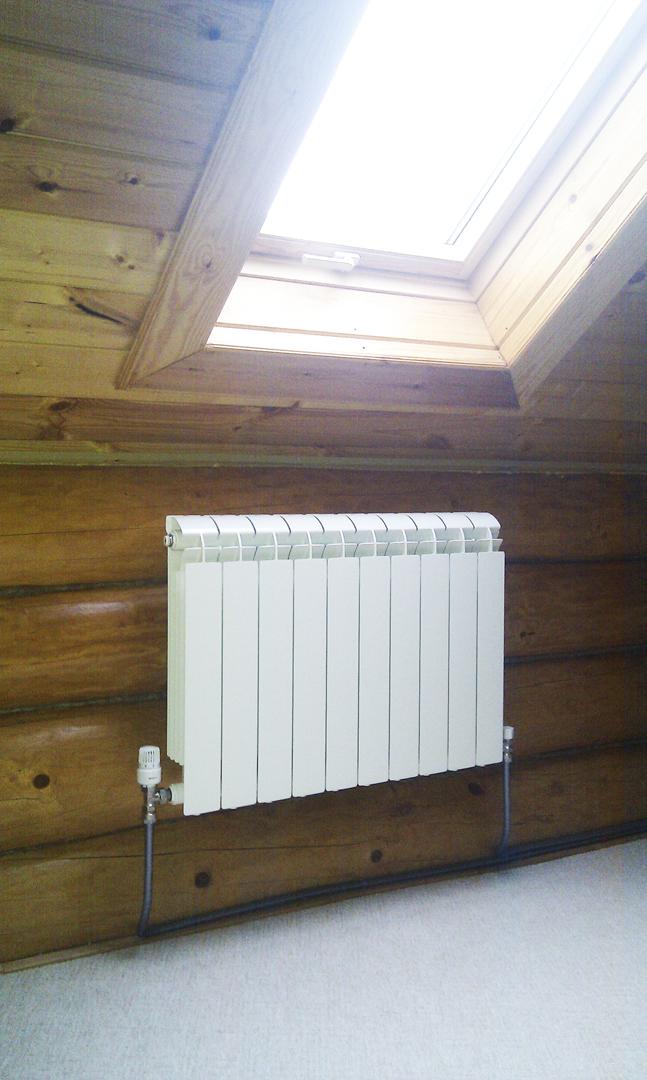 Установка радиаторов в частном доме своими руками 100