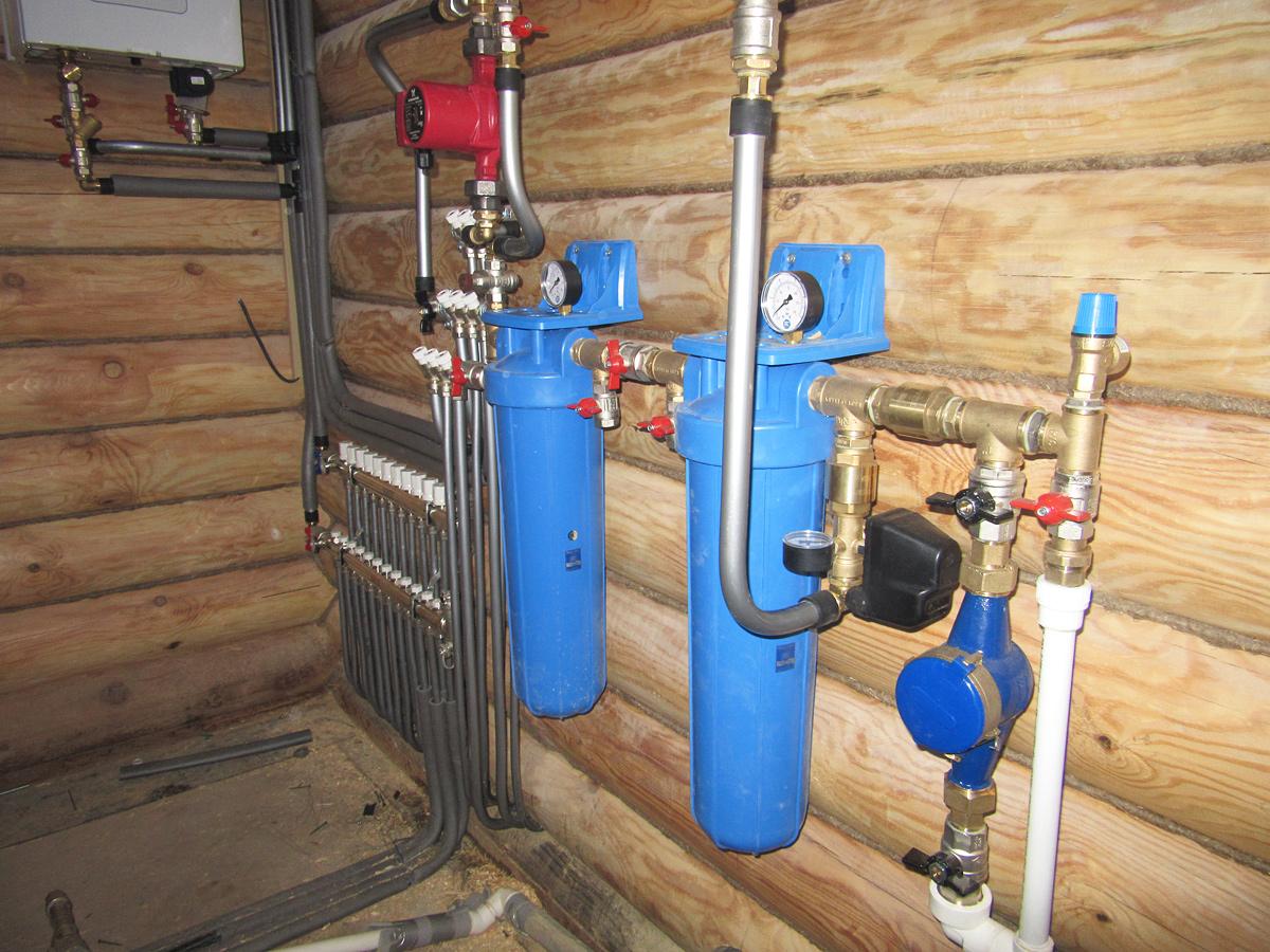 Монтаж водоснабжения своими руками частный дом